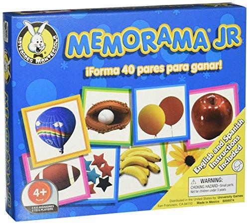 University Games 0307 Memorama Memory