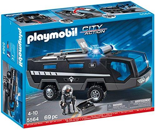 Playmobil -5564 - Jeu De Construction - Véhicule D'intervention Police