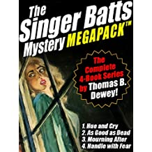 The Singer Batts Mystery MEGAPACK ™: The Complete 4-Book Series