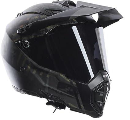 AGV AX-8 Dual Sport EVO Helmet Grunge (Black, X-Large)