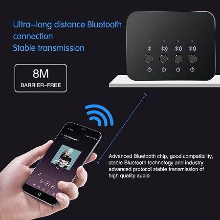 Tonysa Stereo Audio Bluetooth 4 0 Adapter 3 5 Mm Audio Elektronik