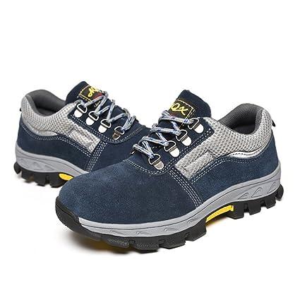 349beda95959a Baoblaze Zapatos de Seguridad para Hombres Zapatos para Correr Running  Steel Accesorios - EU 41 US