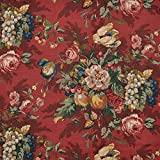 P. Kaufmann Queensland Crimson Fabric - by the Yard