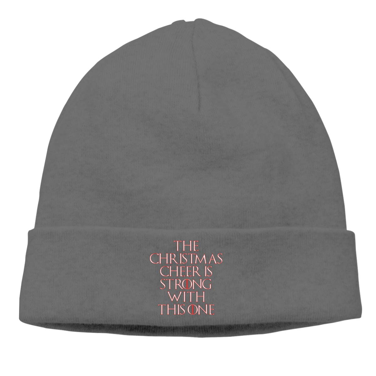 The Christmas Cheer is Strong with This One Skull Caps for Men Deep Heather