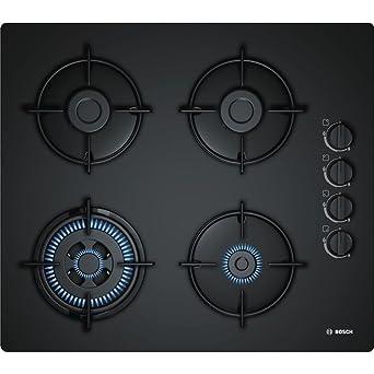 Bosch POH6B6B10 Incasso Gas Nero piano cottura: Amazon.it: Grandi ...