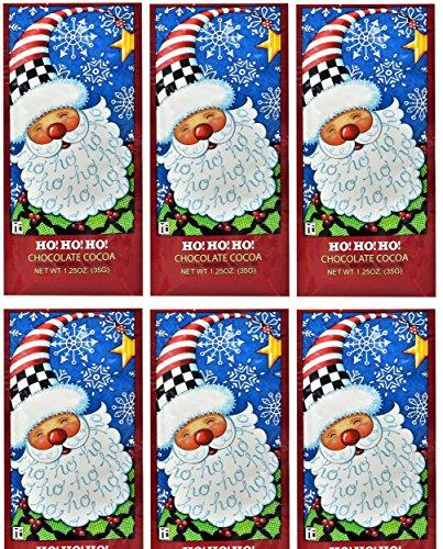 McSteven's - Santa Chocolate Cocoa Mix, 1.25 Ounce (Pack of 6) (Mary Engelbreit Hohoho Chocolate Cocoa)