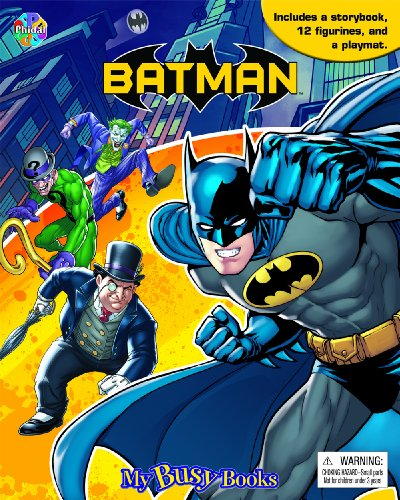 Batman My Busy Book [Phidal Publishing Inc.] (Tapa Dura)