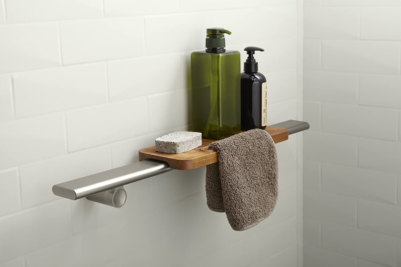 shower ilecip choreograph from shelves floating org kohler shelf