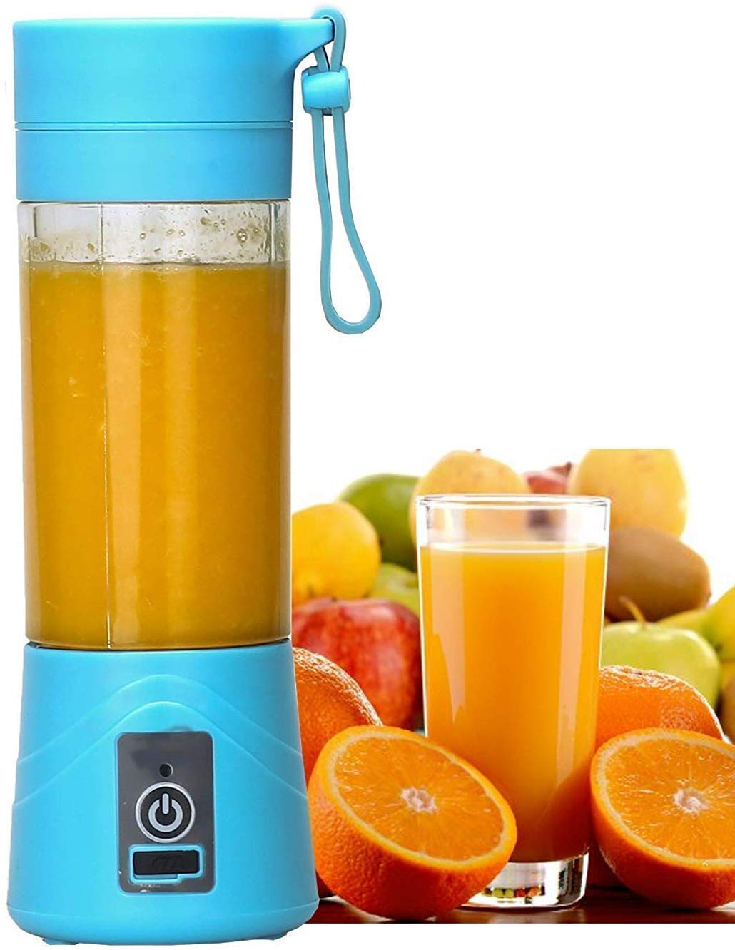 Rylan Rechargeable Portable Travel Electric Mini USB Juicer Bottle Blender