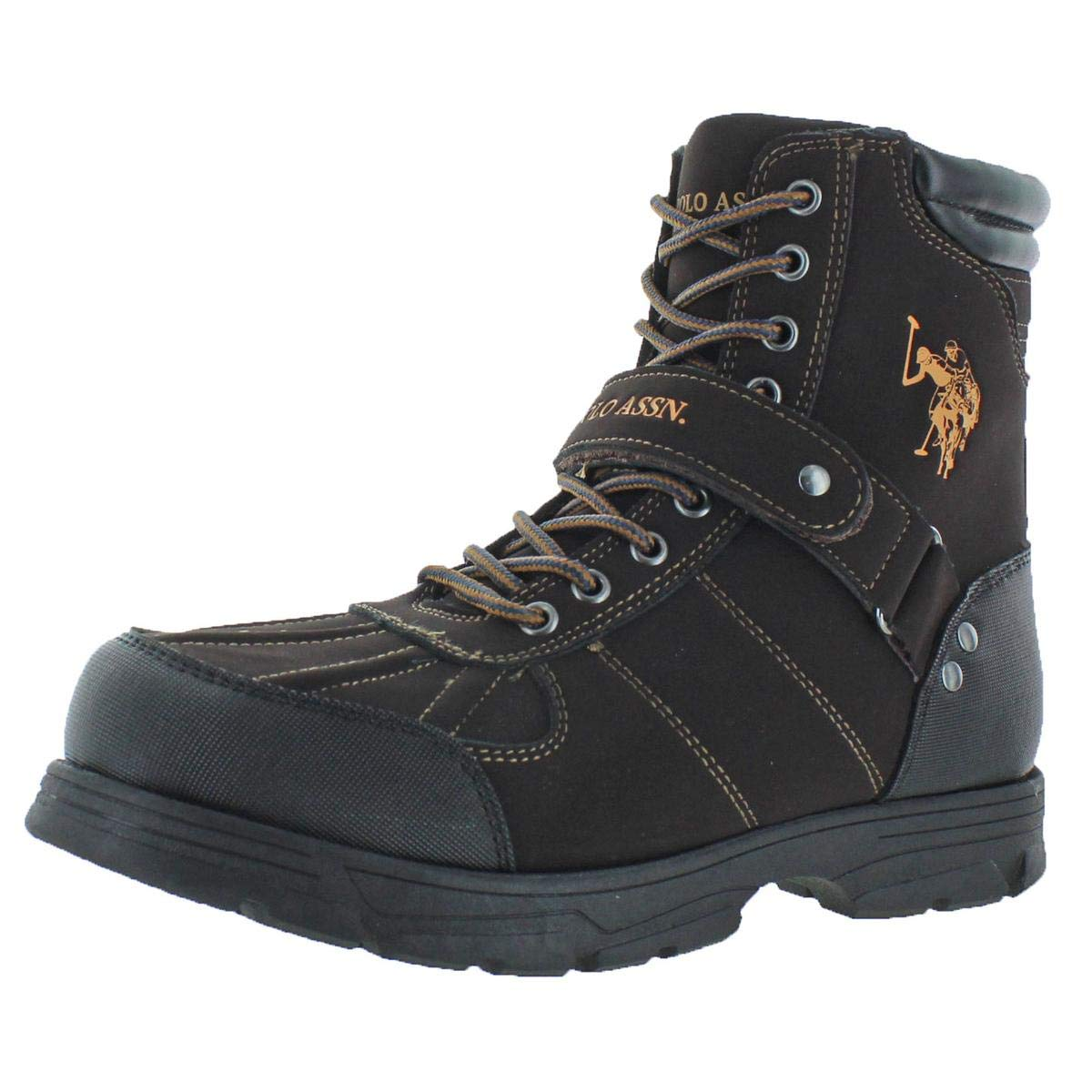U.S. Polo Assn. Connor Men's Buckle Duck Toe Boots