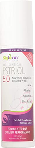 SIGFORM Estriol 5.0 Cream, 0.02 Pound
