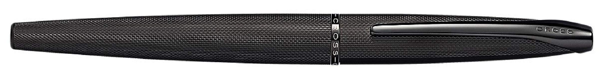 Cross ATX Brushed Black PVD Selectip Rollerball Pen with Etched Diamond Pattern by Cross (Image #5)