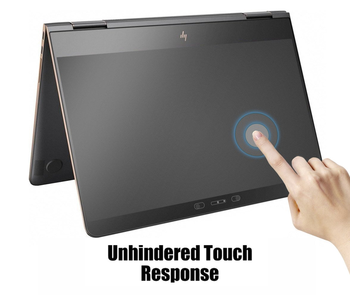 """Set of 2 Screen Protector Guard for HP X360 Spectre 13-W013DX W023dx 13.3/"""" touch"""
