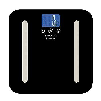 Salter MiBody - Báscula analizadora, Bluetooth, 200 kg, color negro: Amazon.es: Salud y cuidado personal