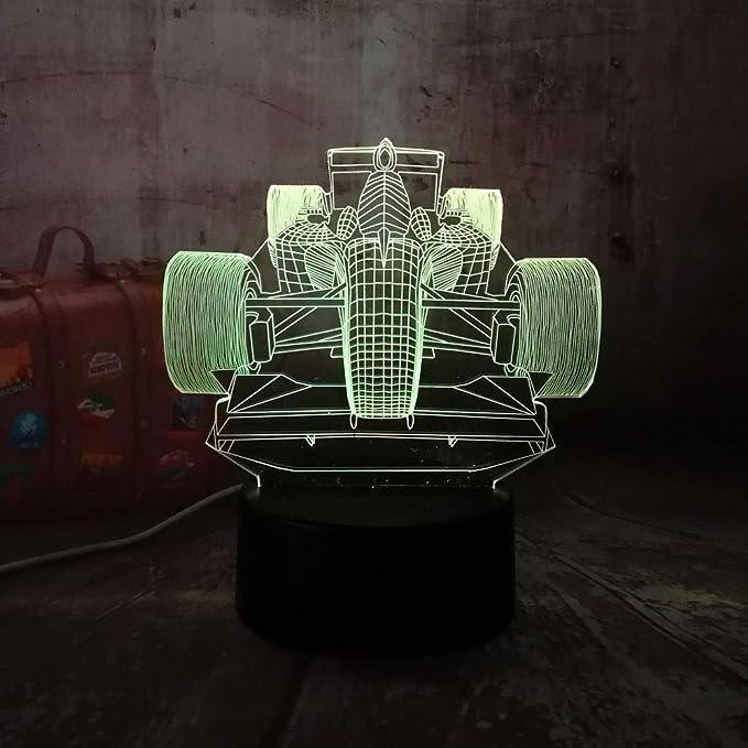 wangZJ 3d Night Light para niños / 3d Illusion Night Light ...