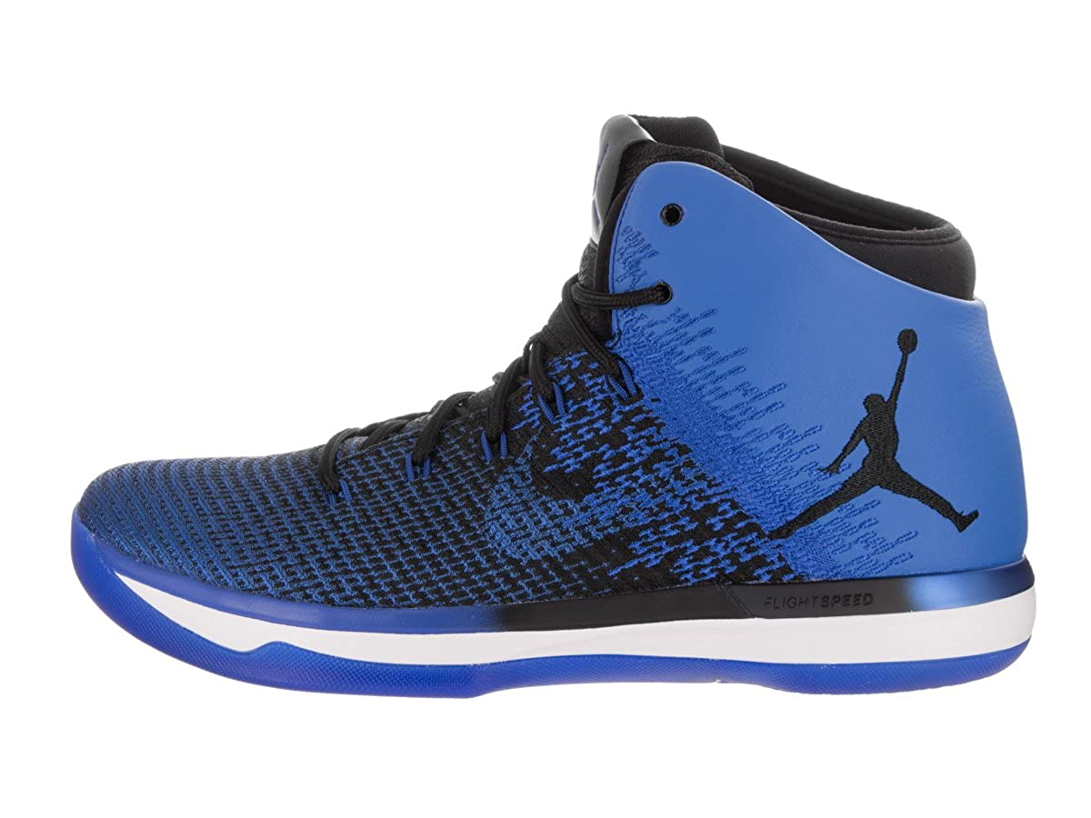 887490c0db7 Amazon.com | Nike Men's Air Jordan XXXI Basketball Shoe, Black/White/White/Game  Royal, 11 D(M) US | Basketball