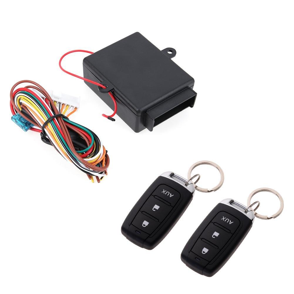Universal Auto Zentral Tü rschloss Fernbedienung Locking Keyless Entry System - Asiproper