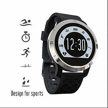 Reloj Inteligente Pulsómetro con Pulsera Inteligente Deporte,Monitor Cardio,Monitor de Sueño,Cámara control,Recordatorio Inteligente,Pulsera Deporte ...