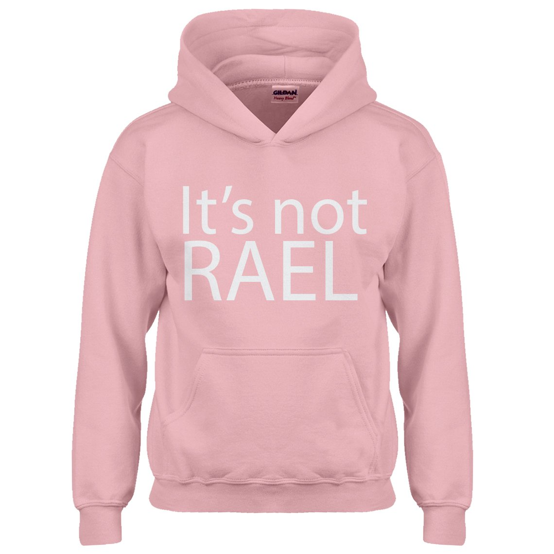 Indica Plateau Youth Its not Rael Kids Hoodie