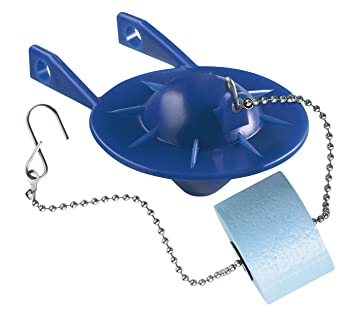 toilet flapper with float. KOHLER GENUINE PART GP85160 FLAPPER  BLUE WITH FLOAT