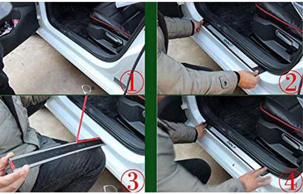 Car Styling Zubeh/ör f/ür Mitsubishi ASX 2011-2020 Protect T/üRschweller Sill Scuff Willkommenspedal Schutzabdeckung Trimmstreifen NTUOO 4Pcs Auto Edelstahl Einstiegsleisten Kick Plates