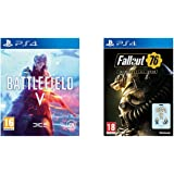 Battlefield V + Fallout 76 - (PS4)