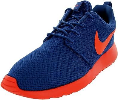 Nike Roshe Run Dark Royal Blue Orange