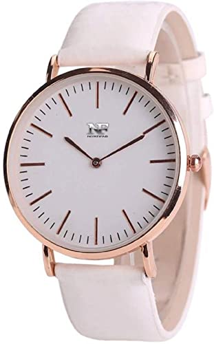 NiyatiFab Analogue White Dial Women's Watch NF02