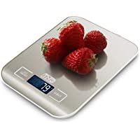 Doljucx Digital Kitchen Food Scale, Multifunction Stainless Steel Scale, LCD Display, 10kg, Support Liquid Weight…