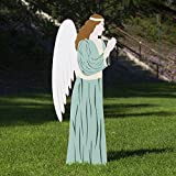Outdoor Nativity Store Outdoor Nativity Set Add-on - Angel (Life-size, Color)