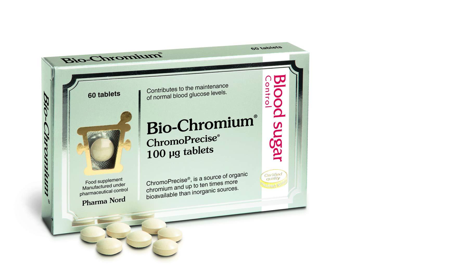 Pharma Nord 100 mcg Bio-chromium - Pack of 60 Tablets