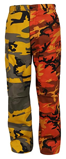 Amazon.com  Rothco Two-Tone Camo BDU Pants  Sports   Outdoors 242b4a576b9