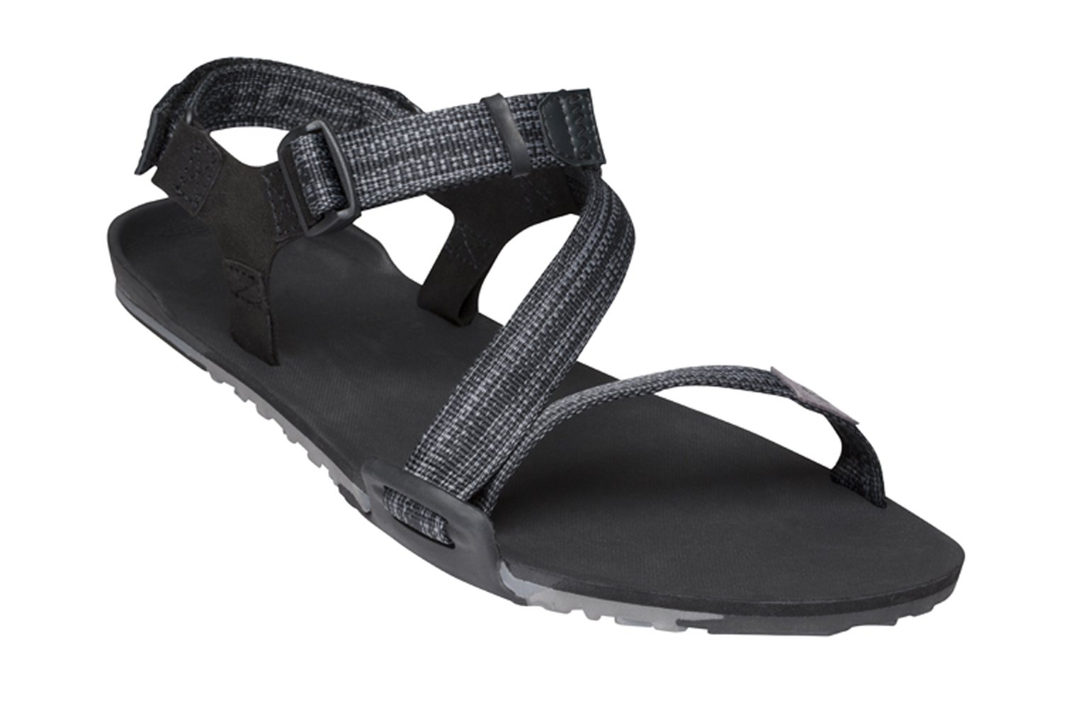 Xero Shoes Z-Trail - Men's Lightweight Hiking and Running Sandal - Barefoot-Inspired Minimalist Trail Sport Sandals - Multi-Black by Xero Shoes