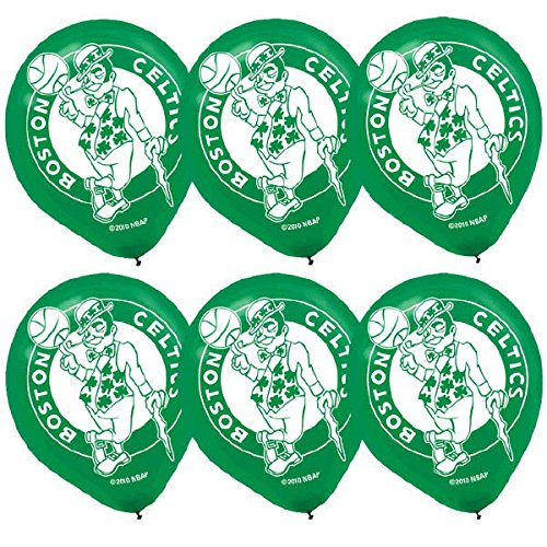 Amscan Sports & Tailgating NBA Minnesota Timberwolves Printed Latex Balloons Childrens Party