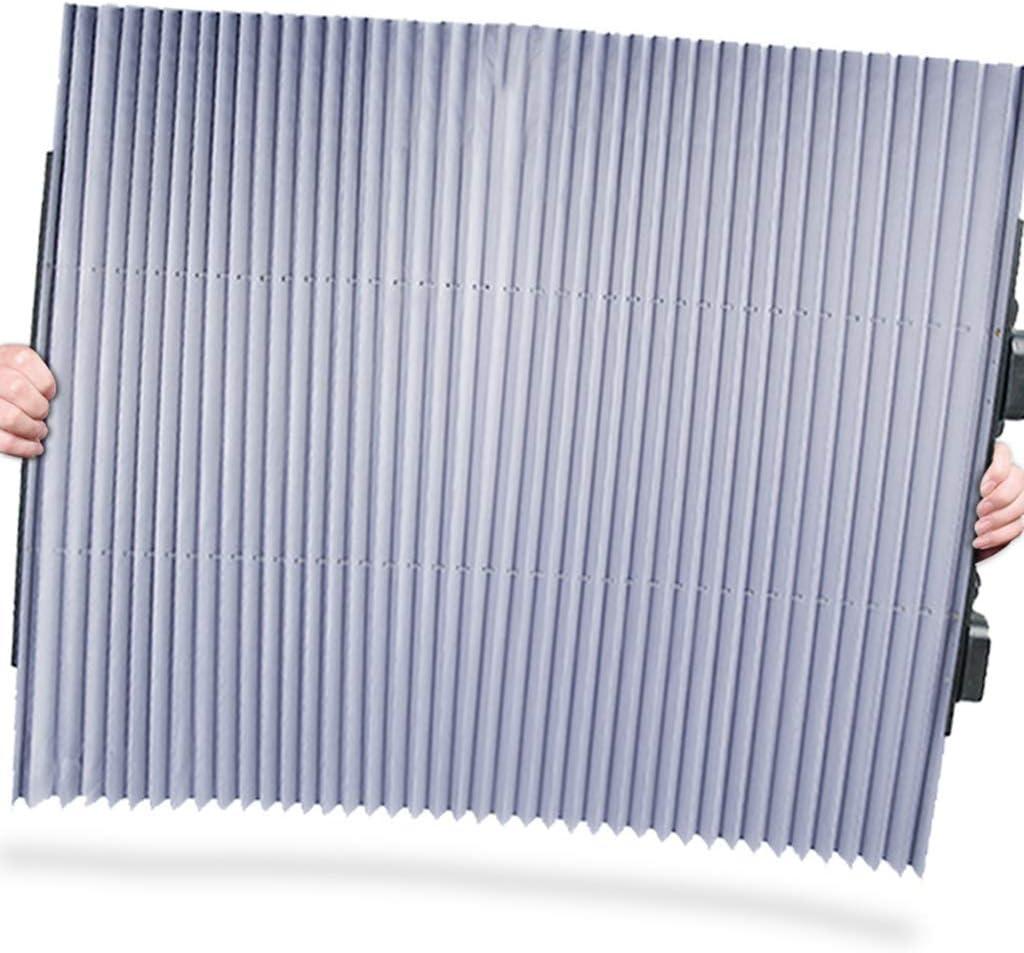 Ausziehbare Sonnenblende f/ür SUV LKW Auto Frontscheibe Sonnenschutz Heckscheibe Sonnenblende UV-Schutz Vorhang 46 cm//65 cm//70 cm 1