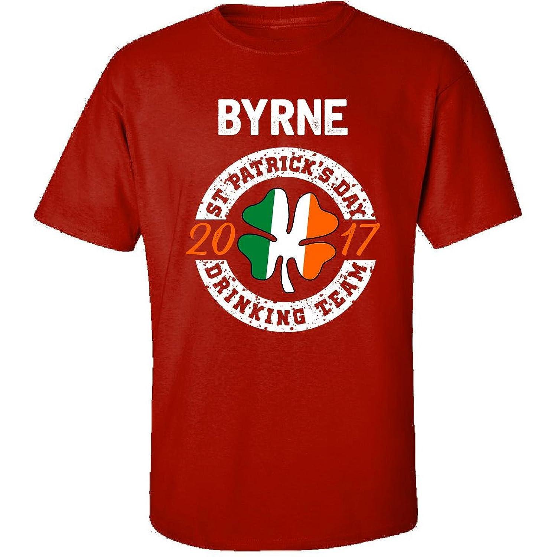 Byrne St Patricks Day 2017 Drinking Team Irish - Adult Shirt