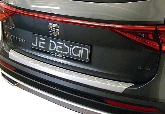 selbstklebend JE DESIGN Ladekantenschutz f/ür Seat Tarraco KN aus ABS Kunststoff in schwarz-glanz