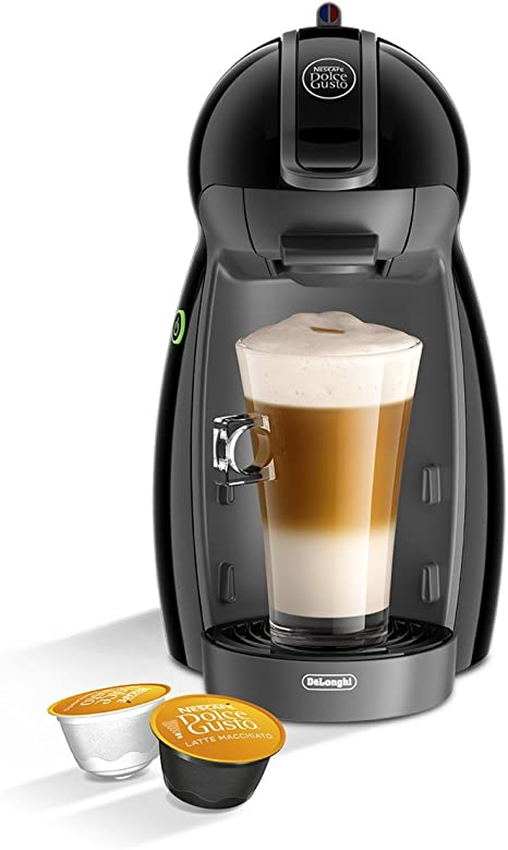 DeLonghi Dolce Gusto Piccolo EDG200.B - Cafetera de cápsulas, 15 bares de presión, color negro: Amazon.es: Hogar