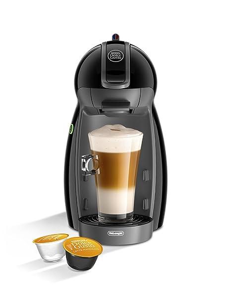 DeLonghi Dolce Gusto Piccolo EDG200.B - Cafetera de cápsulas, 15 bares de presión, color negro