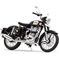 Royal Enfield Black Bike Miniature/Scale Model (RLCSML000008)