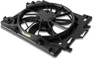 CH3115157 OE Style Radiator Cooling Fan Shroud Assembly for Chrysler Town&Country Dodge Grand Caravan 3.6 08-16