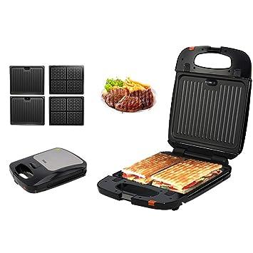 Casa Sandwichera, Máquina de desayuno Máquina de salchicha de barbacoa tostada Máquina de filete Horno