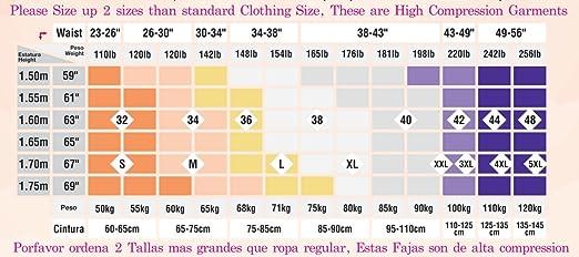Amazon.com: Vest for Men Fajas Salome High Compression/ Vest for Men Fajas Salome High Compression 0122 (XL, BLACK): Health & Personal Care