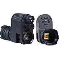 YIERSANSI Cámara de Alcance monocular de visión Nocturna Digital de 720p para una Oscuridad Completa, Alcance de Rifle…