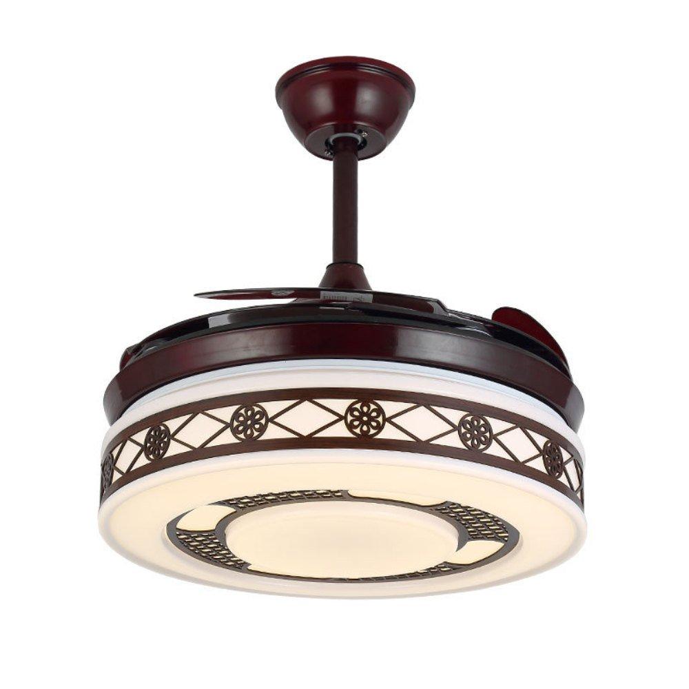 Amazon.com: RS iluminación de estilo chino Ventilador de ...