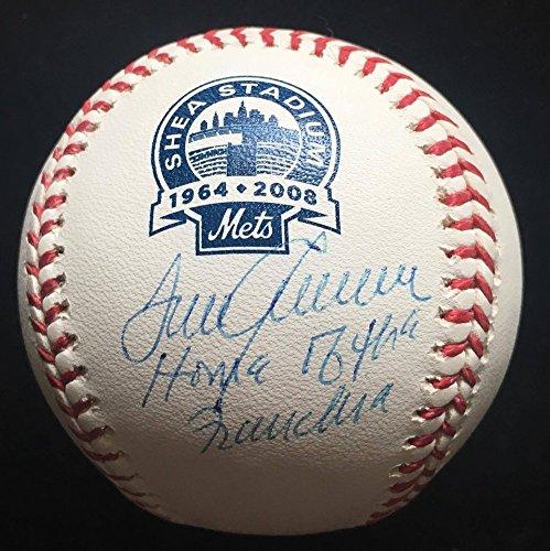 Tom Seaver Signed Autograph Rawlings Shea Stadium Baseball JSA Certified Inscription Ny Mets (Shea Autographed Baseball)