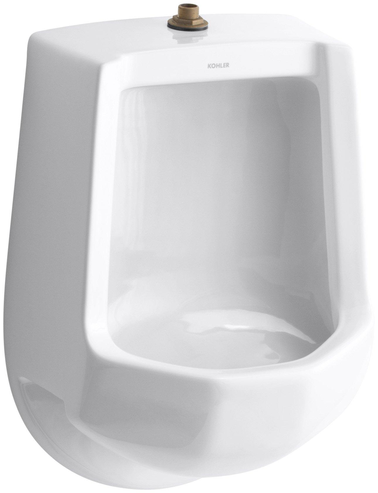 KOHLER K-4989-T-0 Freshman Urinal, White by Kohler