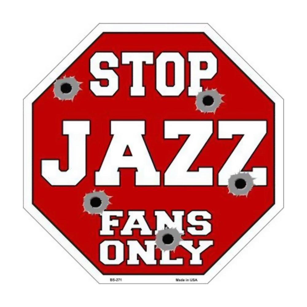 スマートブロンドJazzファンのみメタルノベルティOctagon Stop Sign bs-271 B01BSYJR8C 14322