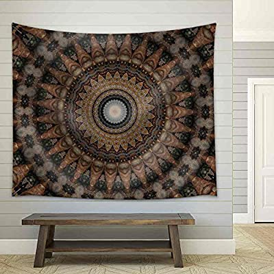 Handsome Composition, Classic Design, Old Russian Ornament Fabric Wall
