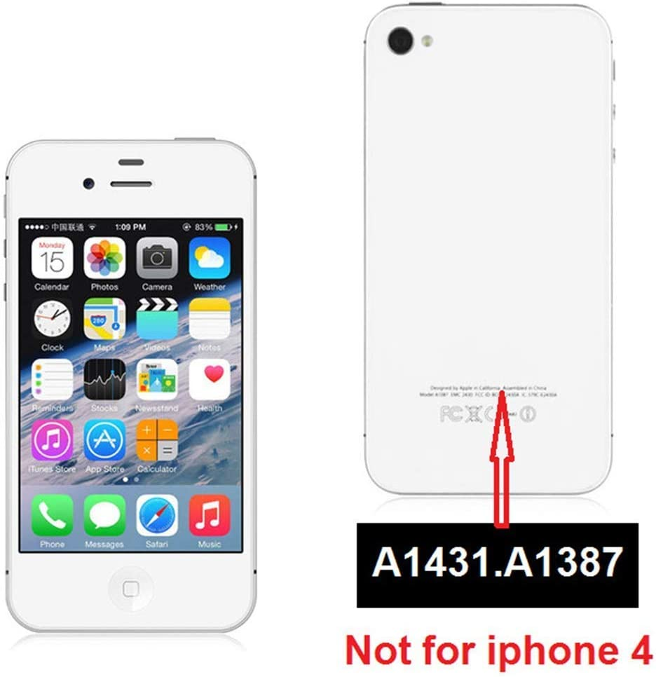 oGoDeal Battery Replacement Compatible for iPhone 4S Battery with DIY Repair Kit